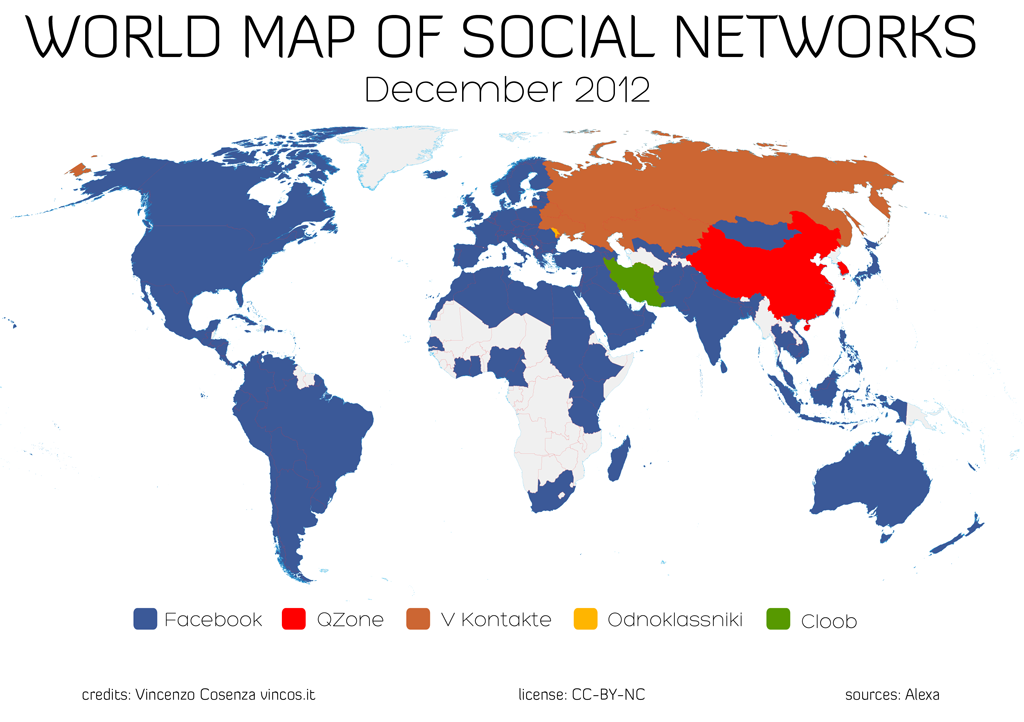 Facebook-world-map